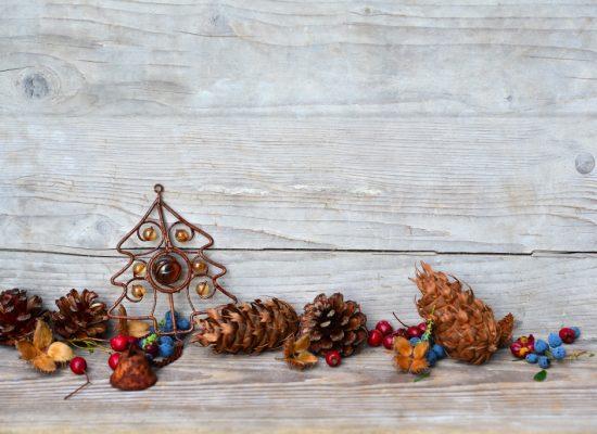 Weihnachten Holz Hintergrund Stern