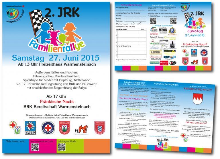 Flyer und Plakate JRK Familienralley