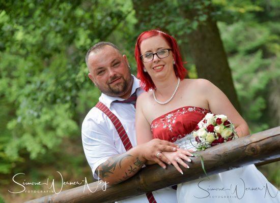 Hochzeitsfotos im Kurpark Bad Berneck