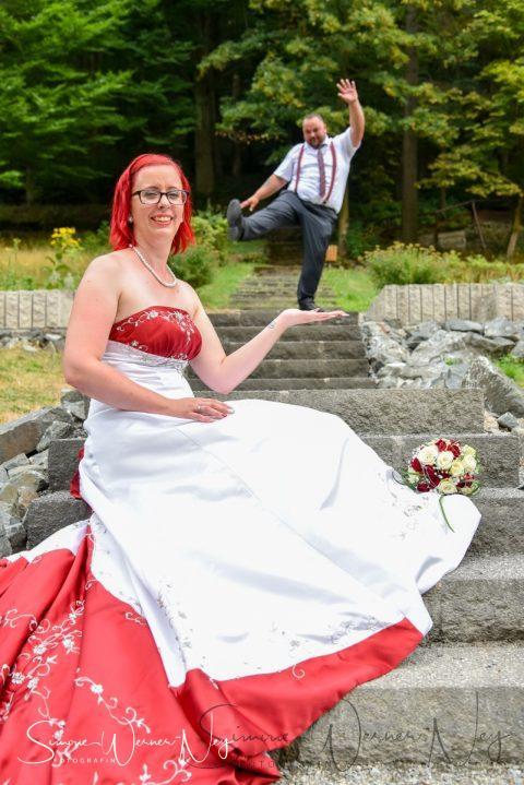 Hochzeitsshooting im Kurpark Bad Berneck