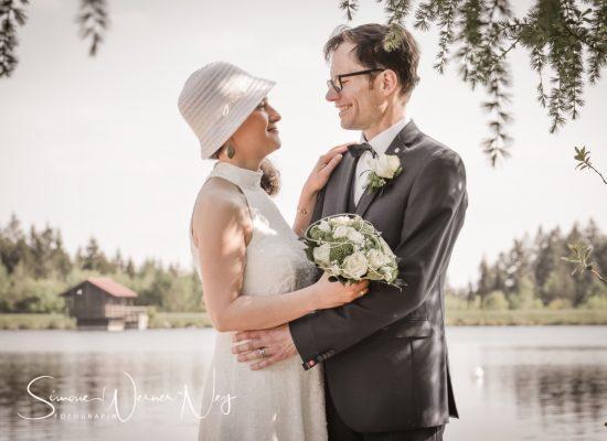 Hochzeitsfotos Fichtelsee