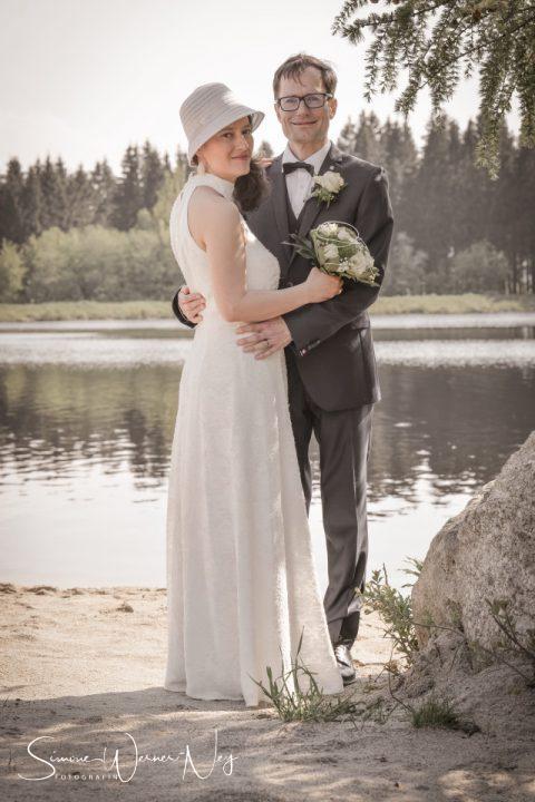 Hochzeitsfotos am Fichtelsee