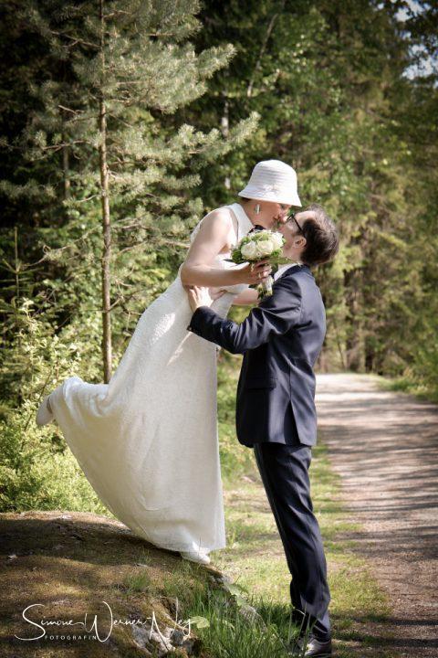 romantische Hochzeit am Fichtelsee im Fichtelgebirge