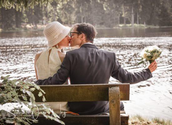 Hochzeit am Fichtelsee im Fichtelgebirge