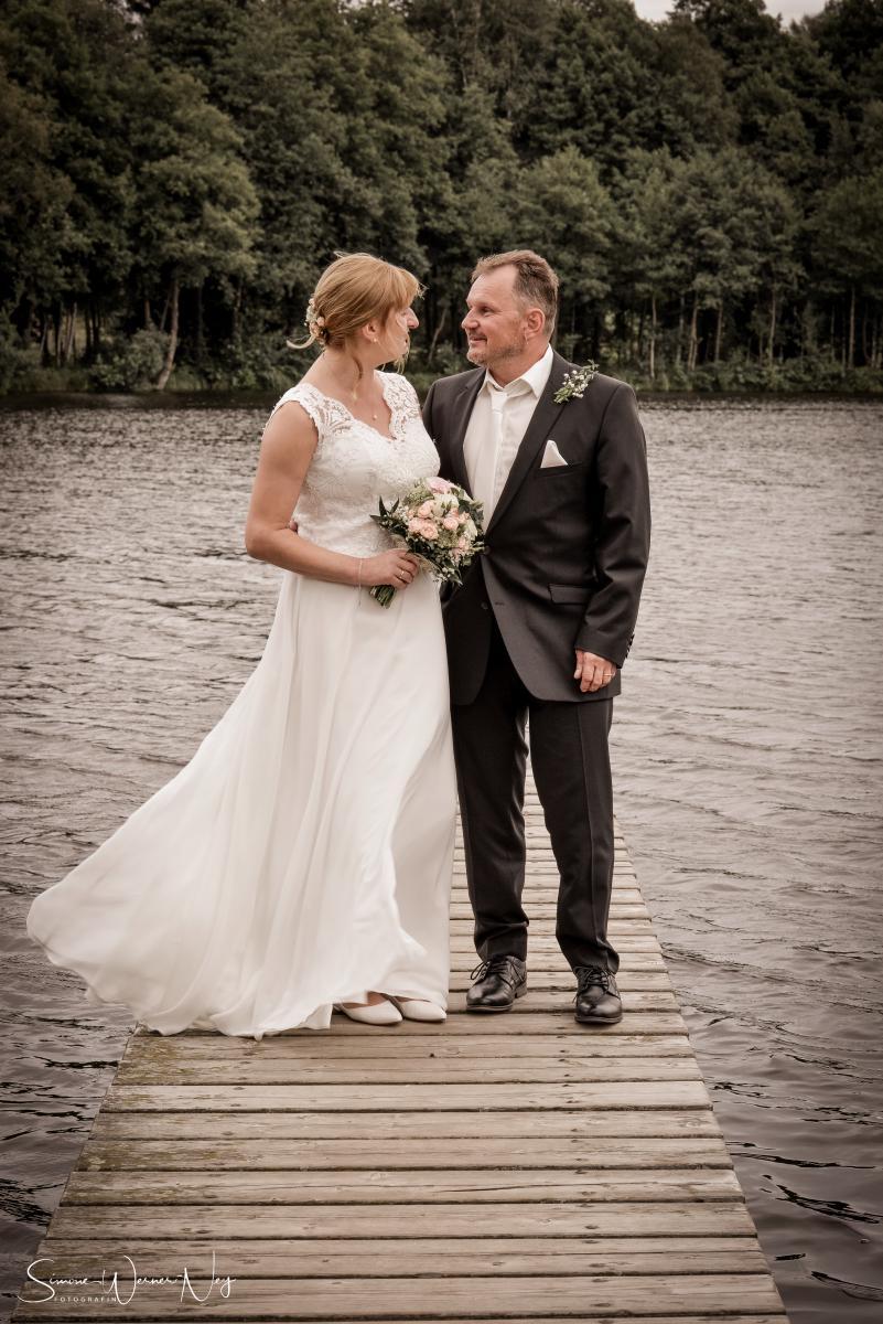 Hochzeitsfotos am Nageler See