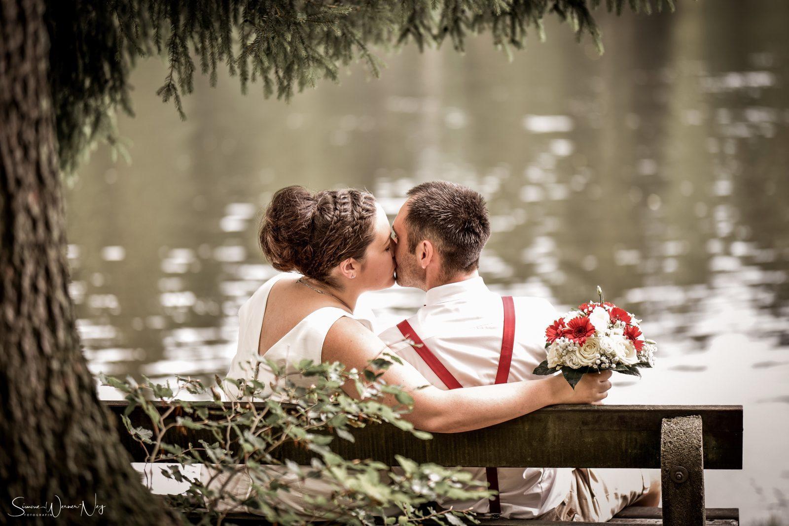 romantische Hochzeit am Fichtelsee