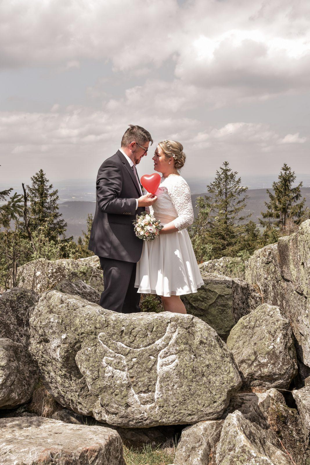 Hochzeitsfotos am Ochsenkopf