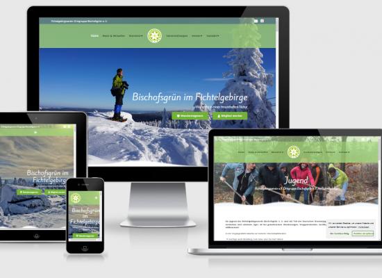 Webseite FGV Bischofsgrün