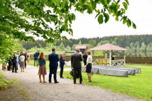 Hochzeitspavillon Heiraten am Fichtelsee