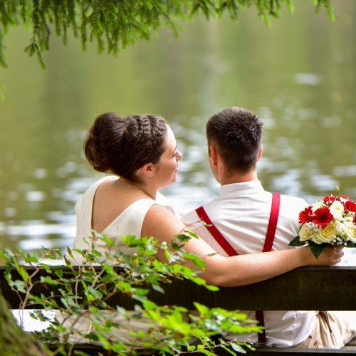 Fichtelsee Brautpaarshooting