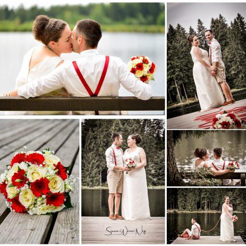 Hochzeit am Fichtelsee in Fichtelberg