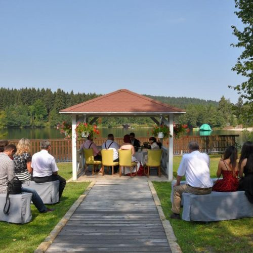 Hochzeitspavillon am Fichtelsee