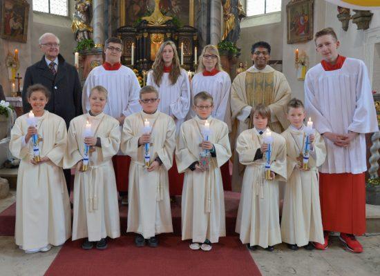 Kommunion & Konfirmations Fotos Fichtelgebirge in der Kirche